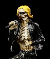 Skelett Figur - Rock Star Sänger