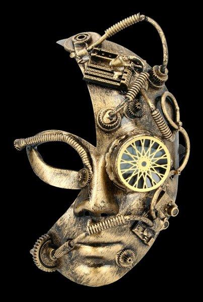 Steampunk Mask - Homunculus