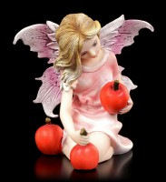 Small Fairy Figurine - Eriu with red Fruits