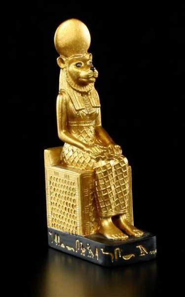 Sekhmet on Throne small