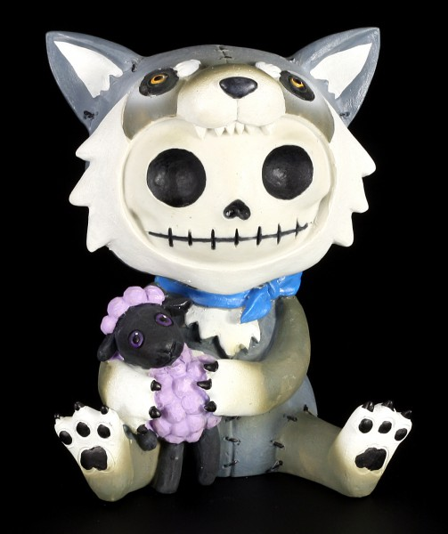 Wolfgang - Large Furry Bones Figurine