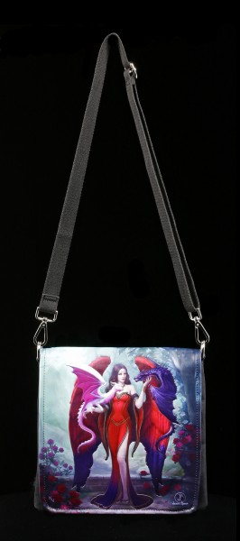 Shoulder Bag - Dragon Mistress - embossed