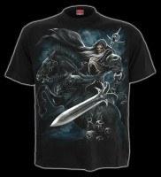 T-Shirt - Skelett Krieger - Grim Rider
