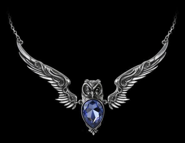 Alchemy Fantasy Halskette mit Eule - Stryx