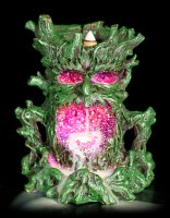 Greenman Backflow with LED - Crystal Ent