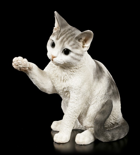 Garden Figurine - Playful Cat