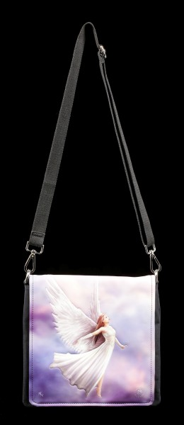 Shoulder Bag with Angel - Ascendance - embossed