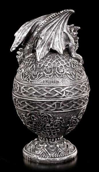 Drachen Schatulle - Verziertes Ei