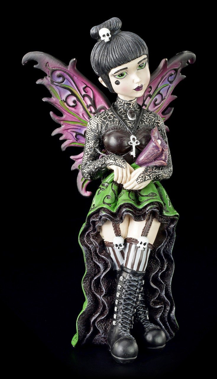 Gothic Elfen Figur - Little Shadows - Orchid