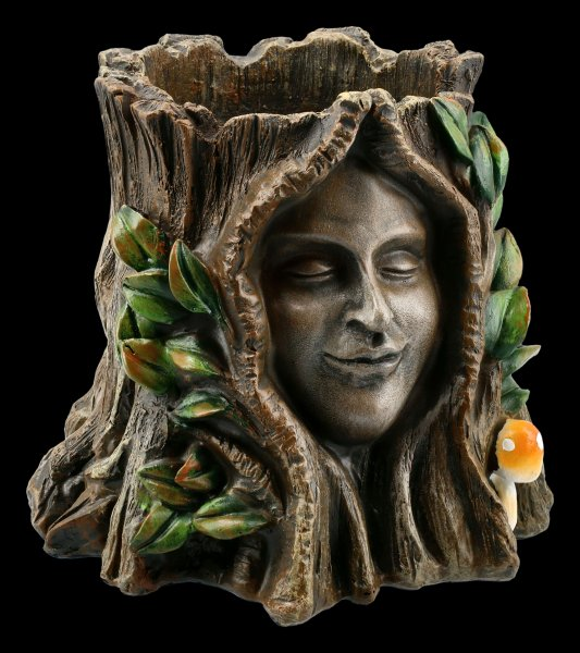 Tree Spirit Pot - Oak Goddess