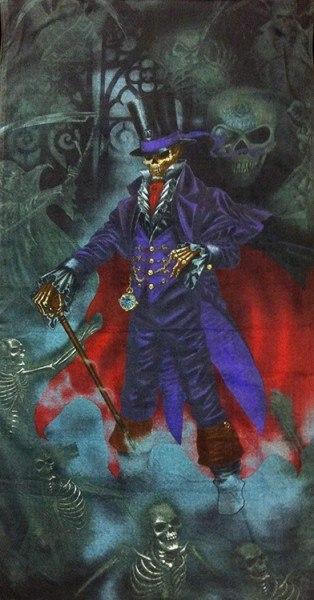 Alchemy Gothic Reaper Badetuch - Magistus