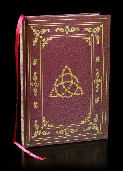 Hardcover Journal with Wicca Symbol