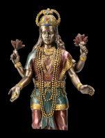 Lakshmi Figur auf Lotus