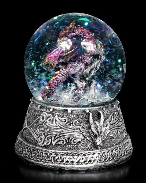 Snowglobe with Dragon - Those Stars