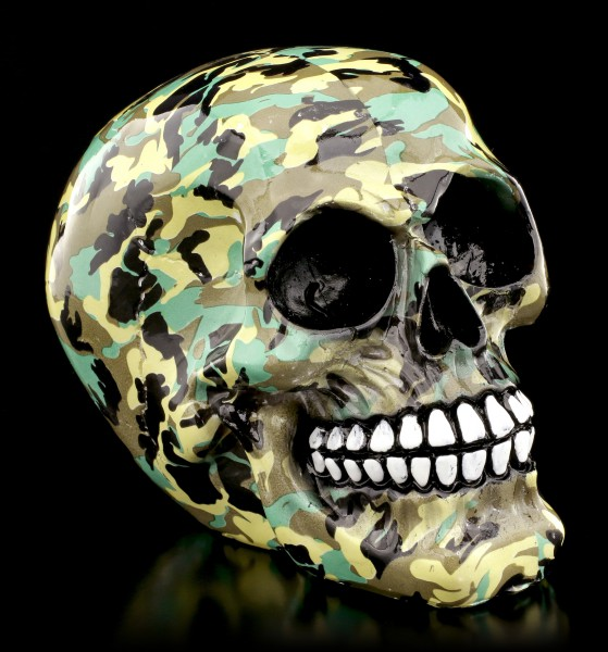 Colourful Skull - Camouflage