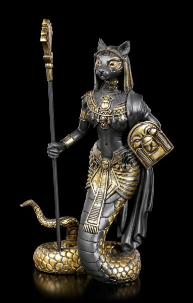 Bastet Figurine in Snake Body