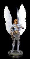Erzengel Michael Figur mit Schwert und Schild