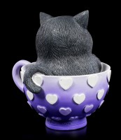 Cat Figurine - Cutiecat in Cup