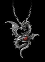 Alchemy Necklace with Dragon - Aethera Draconem