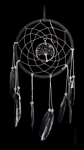 Dreamcatcher - Dream Tree - black