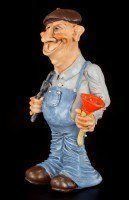 Plumber - Funny Job Figurine