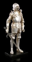 Knight Figurine - Sword right on Pedestal