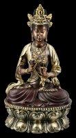 Meditierende Buddha Figur