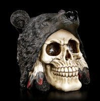 Totenkopf - Indianer Black Bear