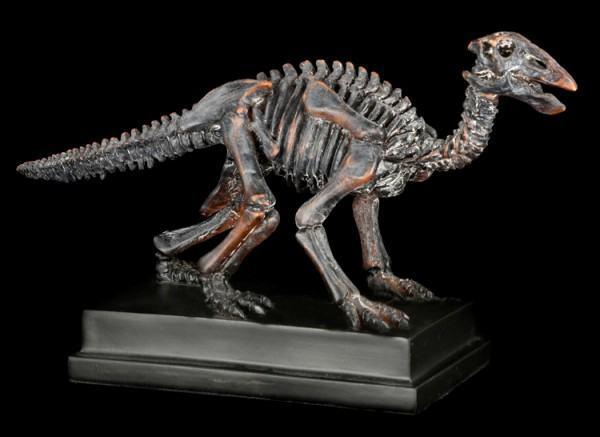 Dinosaurier Figur - Edmontosaurus auf Sockel