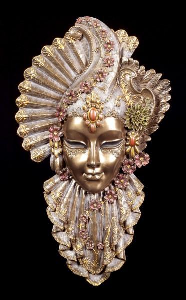 Venetian Mask - Charm Flower