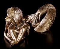 Meerjungfrau Figur zweiteilig
