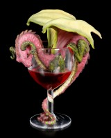 Dragon Figurine - Red Wine by Stanley Morrison