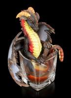 Dragon Figurine - Rum by Stanley Morrison