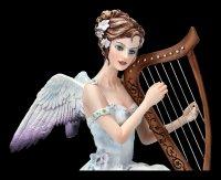 Angel Figurine with Harp - Chrous by Nene Thomas