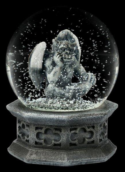 Schneekugel Gargoyle