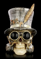 Steampunk Skull - Count Archibald
