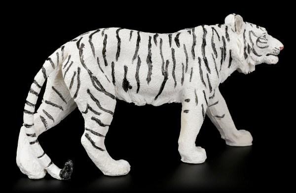 Weiße Tiger Figur - Laufend Klein