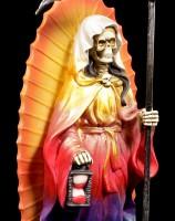 Reaper Figurine - Santa Muerte - rainbow colored