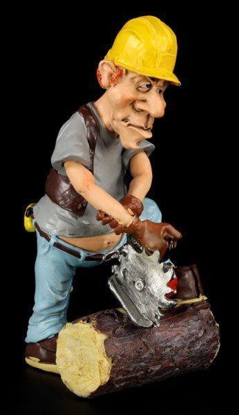 Lumberjack - Funny Job Figurine