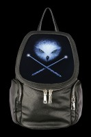 3D Rucksack mit Eule - Owl And Crossed Wands