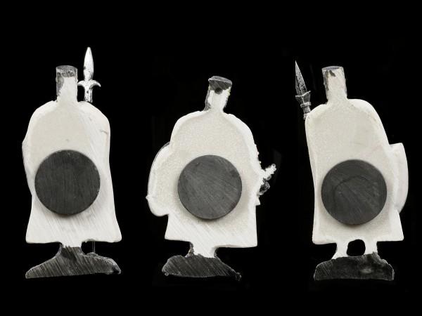 Kühlschrank Magnete - Weiße Ritter 12er Set