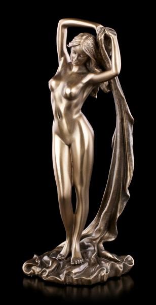 Female Nude Figurine - Blanket over Head