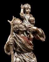 Heiligen Figur - St. Christophorus mit Jesuskind