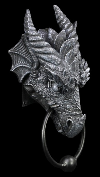 Doorknocker - Dragon Kryst - black