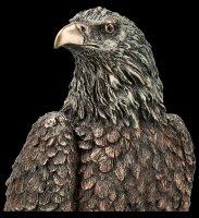 Eagle Figurine sitting on Branch
