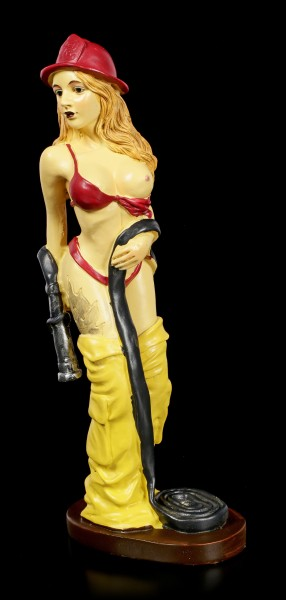 Erotic Figurine - Sexy Firewoman
