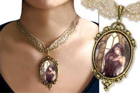 Jessica Galbreth Choker Necklace - Renaissance Rose