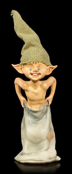 Pixie Goblin Figurine - Sack Race