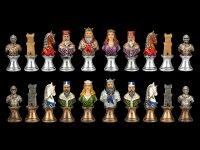 Chessmen Set - Medieval Busts