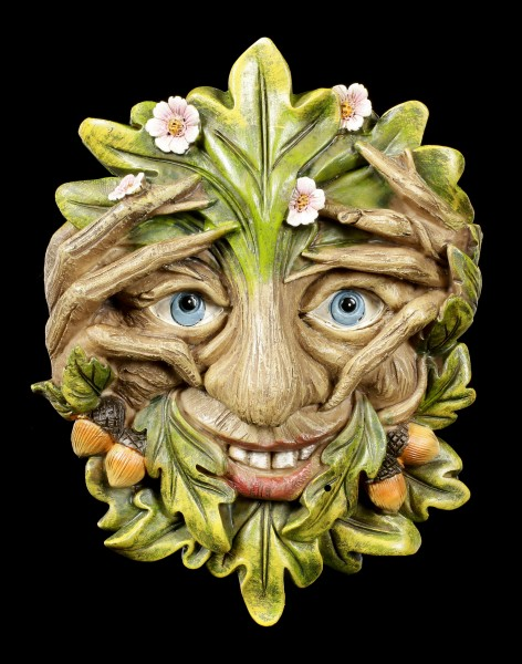 Wall Plaque Greenman - Cheeky Peeper